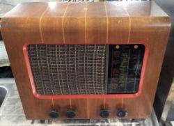 Vintage PYE 47C Valve Radio