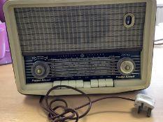 Printed Circuit Vintage Radio