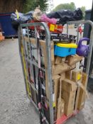 Pallet to contain Various Sporting Items – Grade U - Approx. RRP £851