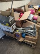 Pallet to contain Various Sporting Items – Grade U - Approx. RRP £1011