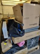 Pallet to contain Various Sporting Items – Grade U - Approx. RRP £908