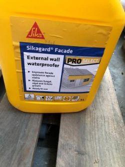 2 x 5 l Sika External Wall Waterproofer