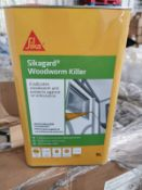 1 x Sika Sikaguard 5 l Woodworm Killer £19 each on Amazon