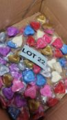 8000 Heart Shaped Artifical Scatter Petals. RRP £160