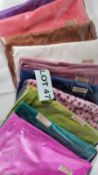 Variety of 10 Coloured / Patterned Pashmina Scarves. RRP £200