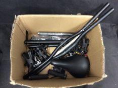 Box of Mixed Bike Parts