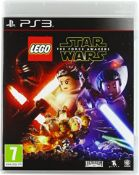 (R14A) 6x Sony PlayStation PS3 Games. 2x Lego Star Wars The Force Awakens Special Edition. 1x Lego