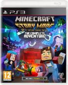 (R14A) 2x PS3 Games. 1x Minecraft Story Mode The Complete Adventure (A Tell-tale Games Series – Incl