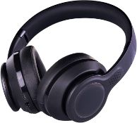 (R14D) 4x Blackweb Headphones. 3x Bluetooth Wireless Black. 1x Active Noise Cancelling Wireless Hea