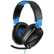 (R14C) 4x Items. 2x Turtle Beach PS5 & PS4 Recon 70 Wired Gaming Headset. 2x Turtle Beach Nintendo