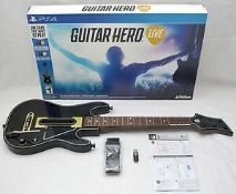 (R14A) 1x PS4 Guitar Hero Live (Currently £120 Amazon). New, Sealed Unit Opened For Photos. Slight