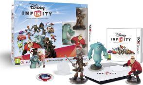 (R14B) 3x Disney Infinity Items. 2x Xbox One 2.0 Starter Pack (1x Has Slight Damage To Box Edge & W