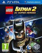 (R14A) 3x Sony PSVITA Games. 1x Lego Batman 2 DC Super Heroes (New, Sealed Item – Currently £19.99