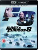 (R14E) 10x 4K Ultra HD / Blu Ray & Digital Download Movies (RRP £19.99 Each HMV). 2x Fast & Furious