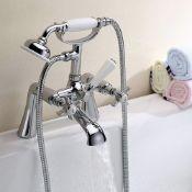 New (G49) Synergy Henbury KC Cross Bath Shower Mixer Tap. Henbury KC Cross Bath Shower Mixer M...