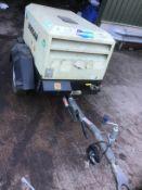 Doosan Twin Tool Fast Tow road Compressor