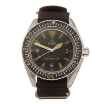 Omega Seamaster 300 Military Stainless Steel - Watch ST 165.024