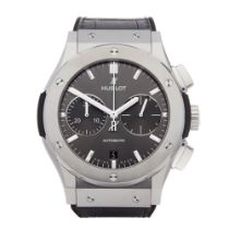 Hublot Classic Fusion Chronograph Titanium Watch 521.NX.7071.LR