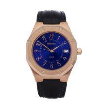 Audemars Piguet Royal Oak Royal Blue 18K Rose Gold - Watch 14800OR