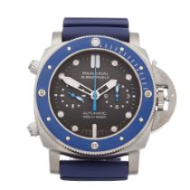 Panerai Luminor Submersible Chronograph Stainless Steel Watch PAM00982