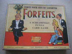 Vintage Forfeits Card Game