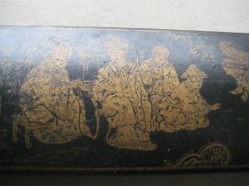 Vintage Chinese Wooden Stationary Box