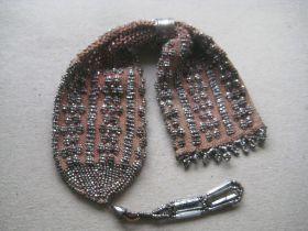 Vintage Ladies Steel and Metal Cased Purse