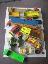 Group of Vintage Matchbox Vehicles
