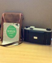 Kodak Junior Folding Bellows Camera