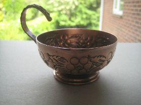 Vintage Art Nouveau Copper Cup