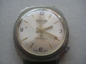 Vintage Gents Binatone Deluxe 21 Jewels Wrist Watch