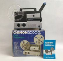 Chinon 2000gl Dual Cine Movie Projector