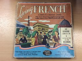 Vintage Living French Language Vinyl Records LP's