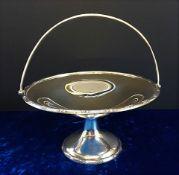 Antique Silver Plate Bon Bon/Sweet Dish