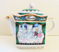 Sadler Staffordshire Porcelain Teapot 'Hamlet'
