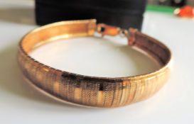Italian Gold on Sterling Silver Bracelet