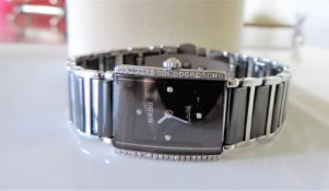 Ladies Rado Integral Jubile Diamond-Set Watch
