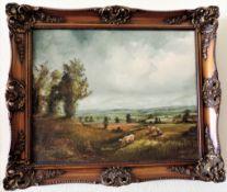 Jack Mould Original Oil on Canvas Signed by Artist c.1978