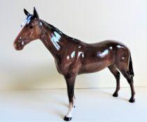 Large Vintage Beswick Horse Figurine 25cm Wide