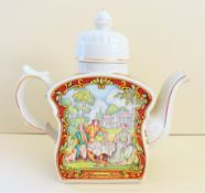 Rare Vintage Sadler Teapot 'Afternoon Tea'