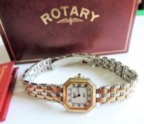 Vintage Ladies Rotary Gold Plated Wristwatch