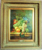 Still Life Oil Painting by Artist Johnny Gaston c.1974