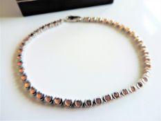 Sterling Silver 1.70ct Citrine Tennis Bracelet