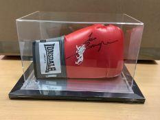 Joe Bugner Signed Boxing Glove With Acrylic Case