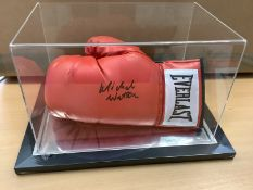 Michael Watson Signed Boxing Glove