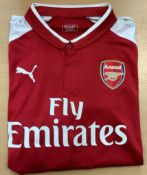 Arsenal Signed Charlie Nicholas Shirt