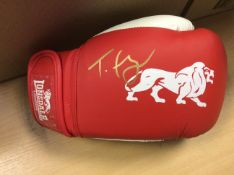 Tyson Fury Signed Lonsdale Boxing Glove