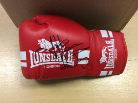 Naseem Hamed Signed Boxing Glove