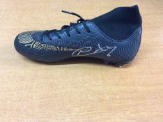 Manchester City Signed Football Boot Nathan Ake