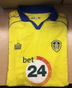 Eddie Gray Signed Leeds United Football Shirt